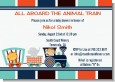 Animal Train - Baby Shower Invitations thumbnail