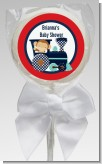 Animal Train - Personalized Baby Shower Lollipop Favors