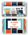 Animal Train - Personalized Baby Shower Mini Candy Bar Wrappers thumbnail