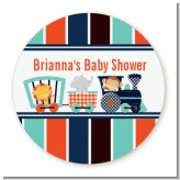 Animal Train - Personalized Baby Shower Table Confetti
