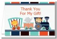 Animal Train - Baby Shower Thank You Cards thumbnail