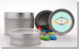 Aqua - Custom Graduation Party Favor Tins
