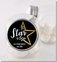 A Star Is Born - Personalized Baby Shower Candy Jar