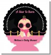 A Star Is Born Hollywood Black|Pink - Personalized Baby Shower Centerpiece Stand thumbnail