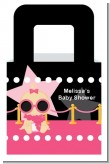 A Star Is Born Hollywood Black|Pink - Personalized Baby Shower Favor Boxes