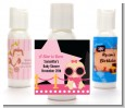 A Star Is Born Hollywood Black|Pink - Personalized Baby Shower Lotion Favors thumbnail