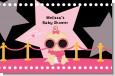 A Star Is Born Hollywood Black|Pink - Personalized Baby Shower Placemats thumbnail