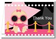 A Star Is Born Hollywood Black|Pink - Baby Shower Thank You Cards thumbnail