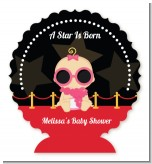 A Star Is Born Hollywood - Personalized Baby Shower Centerpiece Stand