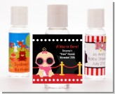 A Star Is Born Hollywood - Personalized Baby Shower Hand Sanitizers Favors
