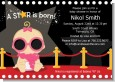 A Star Is Born Hollywood - Baby Shower Invitations thumbnail