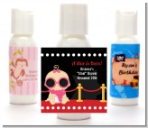 A Star Is Born Hollywood - Personalized Baby Shower Lotion Favors