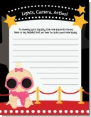 A Star Is Born Hollywood - Baby Shower Notes of Advice