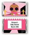 A Star Is Born Hollywood Black|Pink - Personalized Baby Shower Mini Candy Bar Wrappers thumbnail