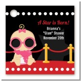 A Star Is Born Hollywood - Personalized Baby Shower Card Stock Favor Tags