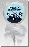 ATV 4 Wheeler Quad - Personalized Birthday Party Lollipop Favors