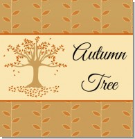 Autumn Tree Bridal Shower Theme