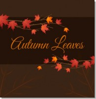 Autumn Leaves Bridal Shower Theme