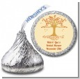 Autumn Tree - Hershey Kiss Bridal Shower Sticker Labels thumbnail