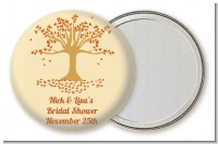 Autumn Tree - Personalized Bridal Shower Pocket Mirror Favors