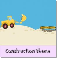 Construction Birthday Party Theme