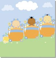 Baby Blooming Boy Baby Shower Theme