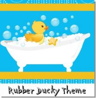 Duck Birthday Party Theme