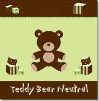 Teddy Bear Birthday Party Theme