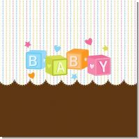 Baby Blocks Baby Shower Theme