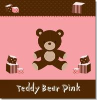 Teddy Bear Pink Birthday Party Theme