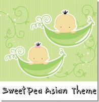 Sweet Pea Asian Baby Shower Theme