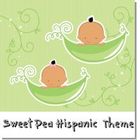 Sweet Pea Hispanic Baby Shower Theme