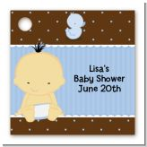 Baby Boy Asian - Personalized Baby Shower Card Stock Favor Tags