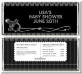 Baby Bling - Personalized Baby Shower Candy Bar Wrappers