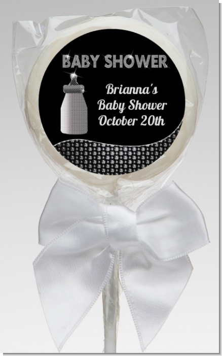 Baby Bling - Personalized Baby Shower Lollipop Favors