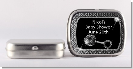 Baby Bling - Personalized Baby Shower Mint Tins