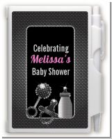 Baby Bling - Baby Shower Personalized Notebook Favor