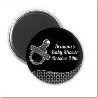Baby Bling Pacifier - Personalized Baby Shower Magnet Favors