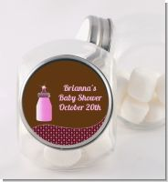 Baby Bling Pink - Personalized Baby Shower Candy Jar