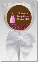 Baby Bling Pink - Personalized Baby Shower Lollipop Favors