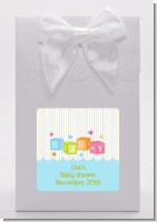 Baby Blocks Blue - Baby Shower Goodie Bags