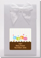Baby Blocks - Baby Shower Goodie Bags