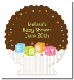 Baby Blocks - Personalized Baby Shower Centerpiece Stand thumbnail