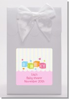 Baby Blocks Pink - Baby Shower Goodie Bags