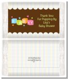Baby Blocks - Personalized Popcorn Wrapper Baby Shower Favors
