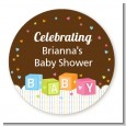 Baby Blocks - Personalized Baby Shower Table Confetti thumbnail