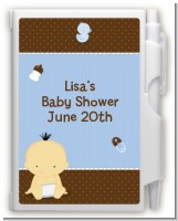 Baby Boy Asian - Baby Shower Personalized Notebook Favor