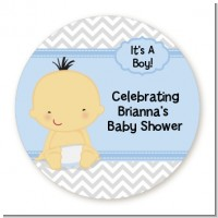Baby Boy Asian - Personalized Baby Shower Table Confetti