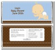 Baby Boy Caucasian - Personalized Baby Shower Candy Bar Wrappers thumbnail