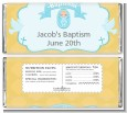 Baby Boy - Personalized Baptism / Christening Candy Bar Wrappers thumbnail